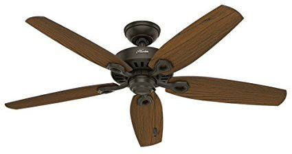 Hunter-53292-52-Builder-Elite-Damp-New-Ceiling-Fan,-Bronze